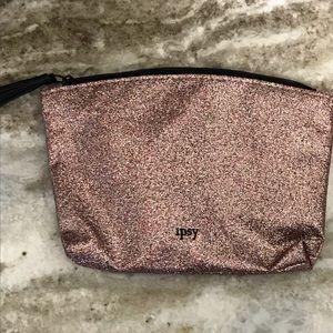 Sparkly mini makeup bag
